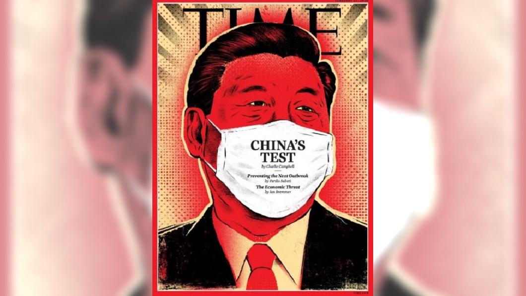 圖/翻攝自TIME 官網 時代雜誌新封面 武肺恐壞習近平中國夢