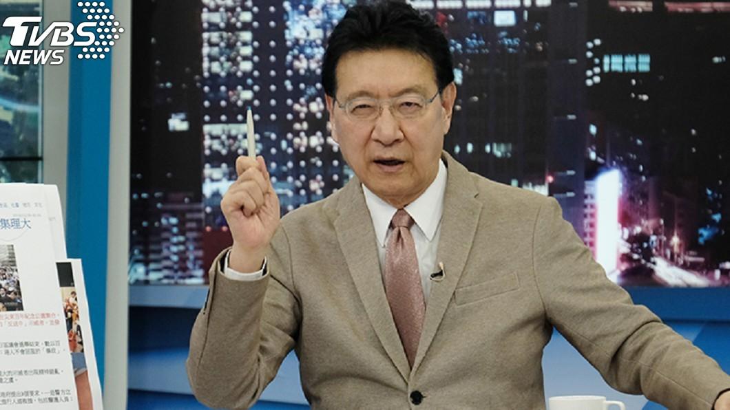 趙少康表示他當初就說過武漢肺炎絕對會人傳人。(圖/ TVBS資料照) 武漢肺炎肯定人傳人 趙少康「我可能是第一個講的」