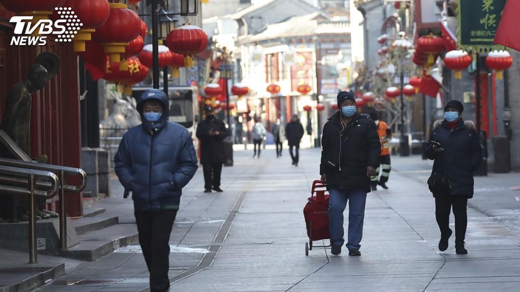 圖/達志影像美聯社 北京進入半封城狀態! 通告嚴格社區式封閉管理