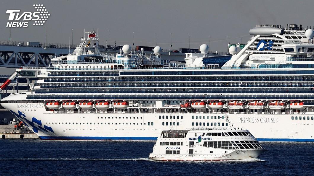 圖/達志影像路透社 鑽石公主號淪為疫船 公主遊輪:所有旅客全額退費