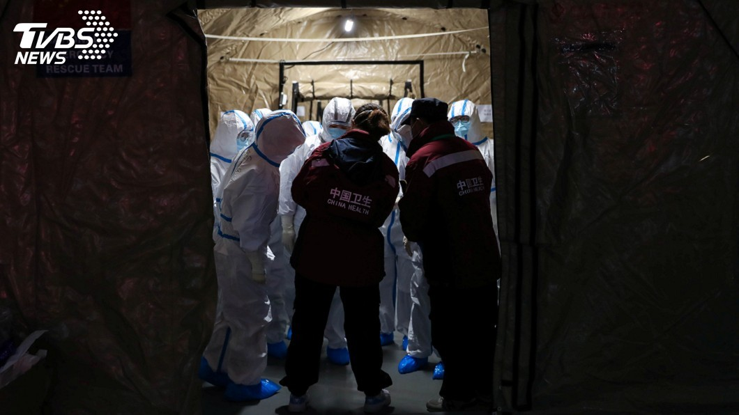 圖/達志影像路透社 模型預估疫情將達高峰 武漢市恐50萬人染病