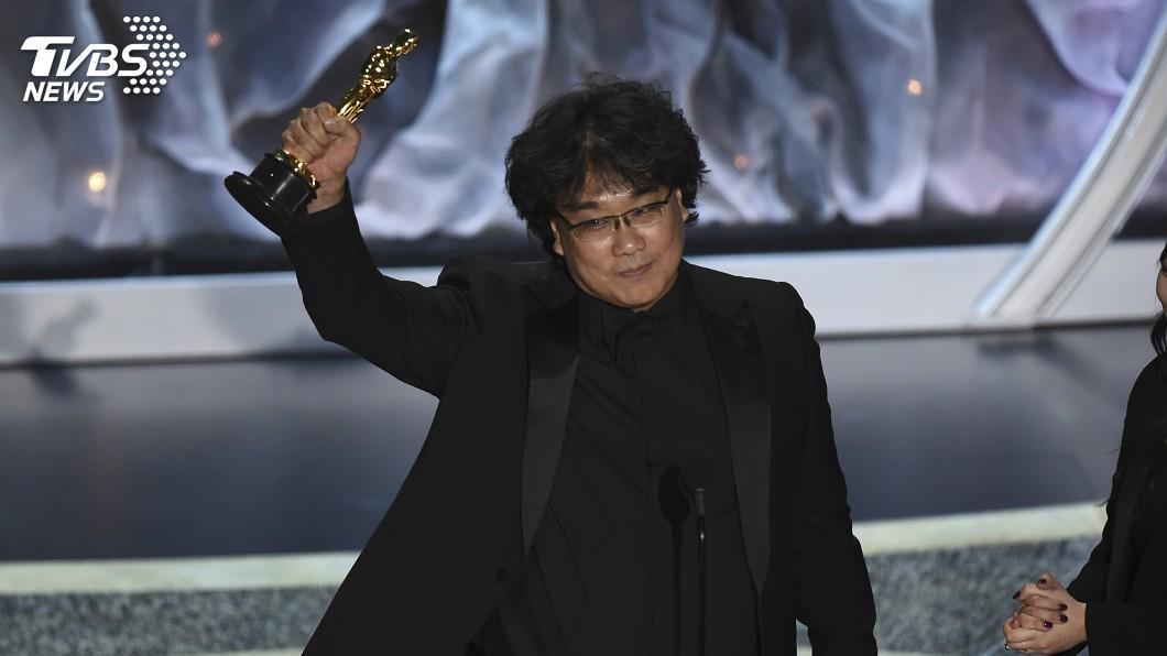 圖/達志影像美聯社 奉俊昊得獎感言風靡奧斯卡 自豪寫出韓國故事