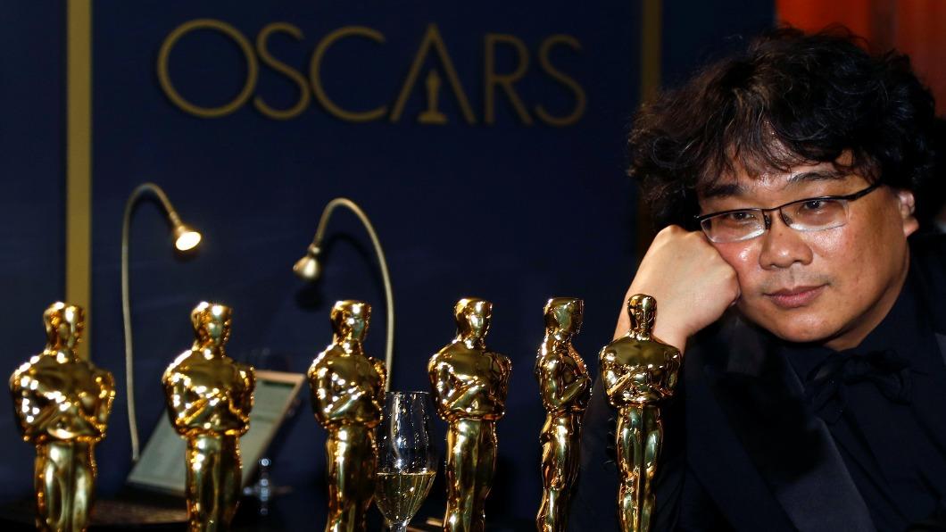 圖/達志影像路透 改寫小金人史 《寄生上流》非英語片奪最佳影片獎