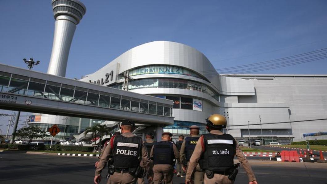 圖/達志影像路透 泰國軍人商場掃射 29死56傷.靠無人機緝凶