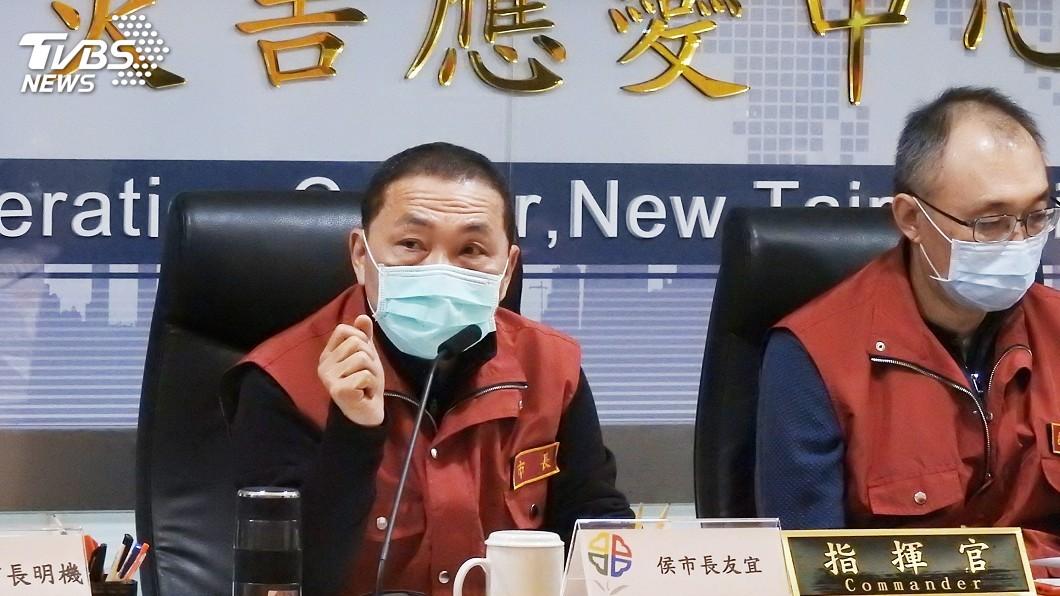 圖/中央社資料畫面 居家檢疫人數增 侯友宜:新北將設關懷中心提供服務