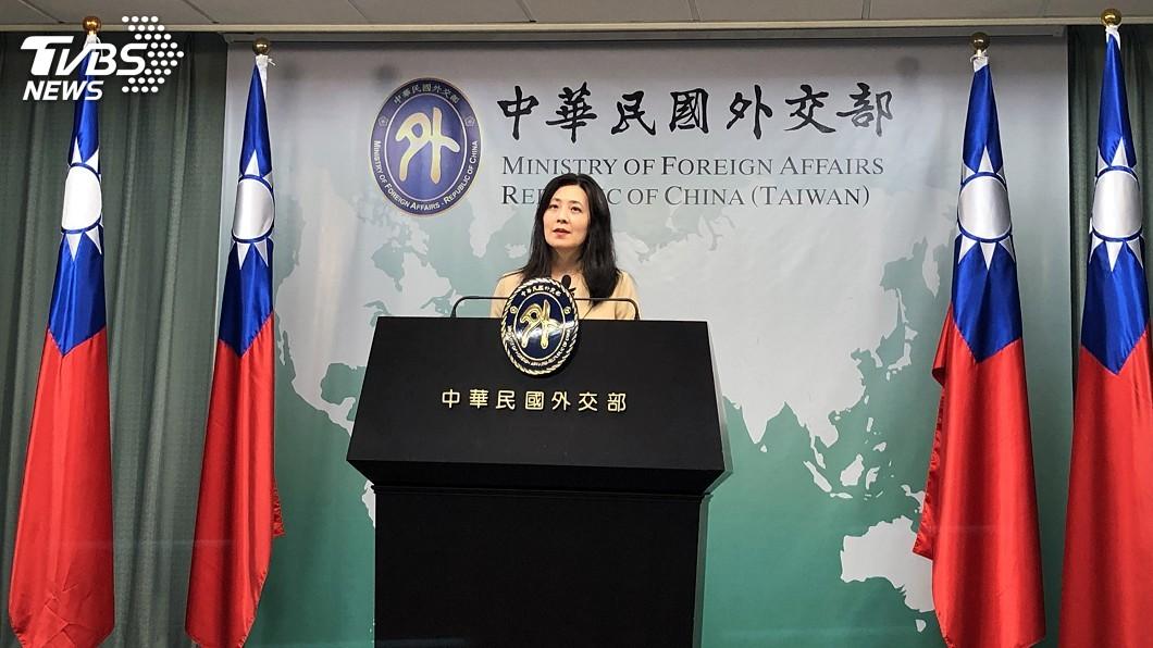 外交部發言人歐江安。(圖/中央社資料照) 回擊陸外長王毅 外交部:台灣有權利與他國往來