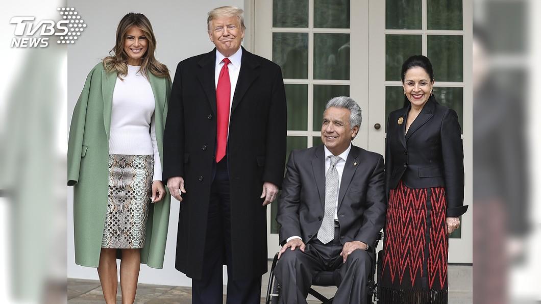 圖/達志影像美聯社 20年來首度! 川普在白宮接待厄瓜多總統