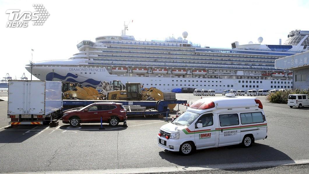圖/達志影像美聯社 鑽石公主號確診數攀升 日:高齡及慢性病乘客提前下船