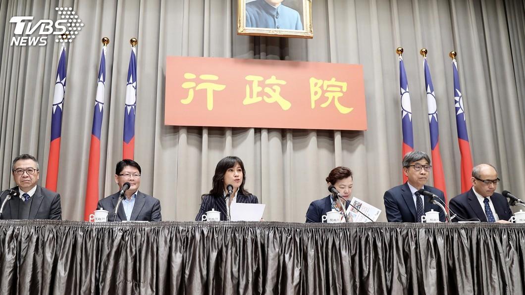 圖/中央社 武漢肺炎疫情衝擊產業 政院拍板600億紓困