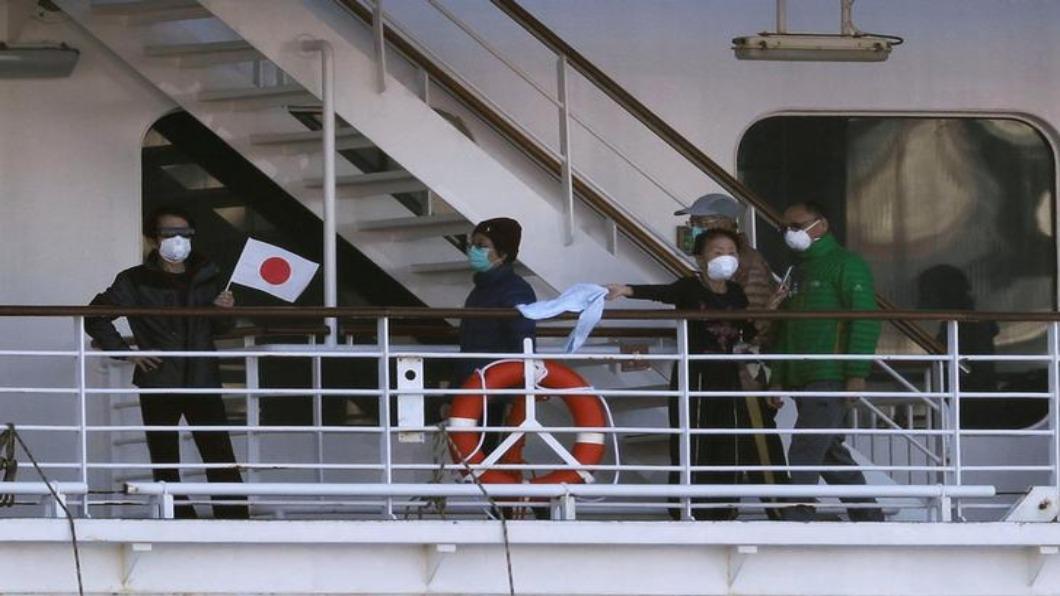 圖/達志影像路透  准了!鑽石公主號逾80歲乘客 若陰性能下船