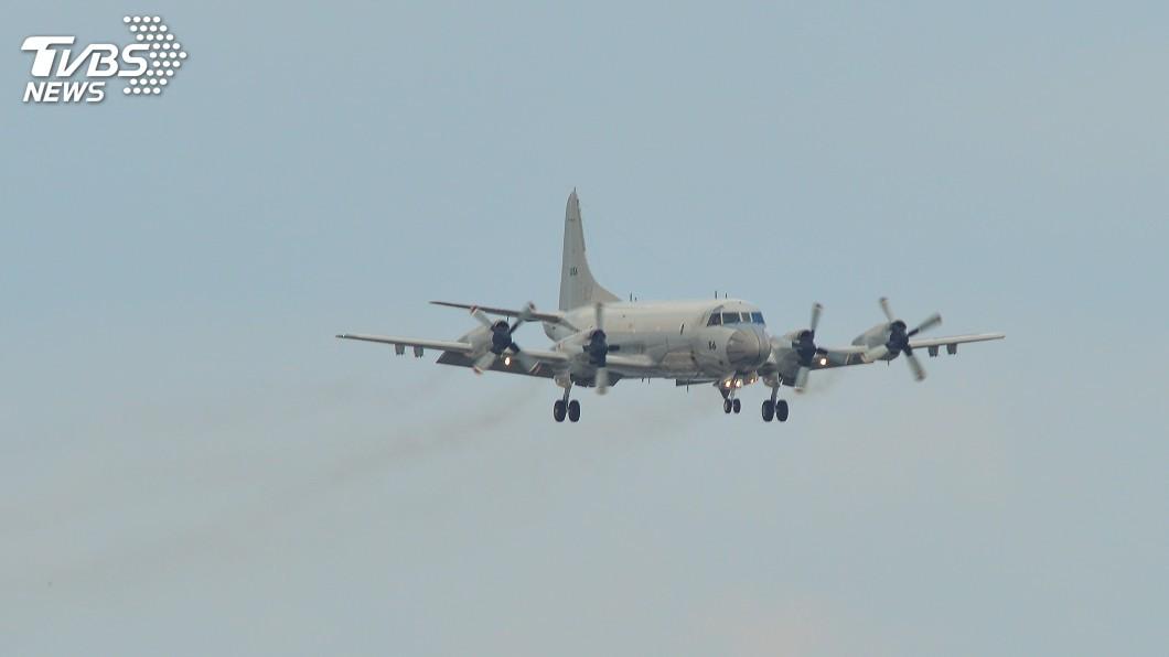 示意圖/TVBS 美軍機又來了! P-3C反潛機現蹤台灣南部外海