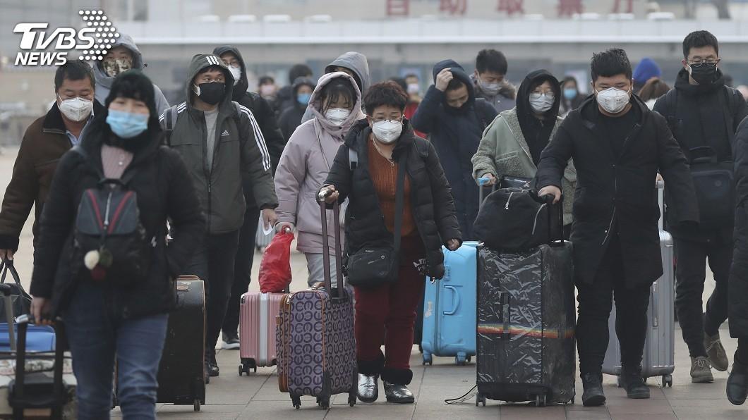 圖/達志影像美聯社 武漢肺炎疫情不同調 世衛中國病例數差很大