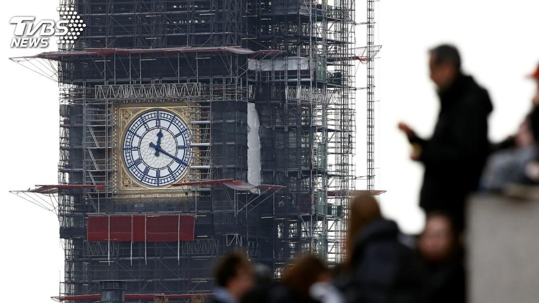 圖/達志影像路透社 英國大笨鐘鐘塔維修費 暴增數以百萬計英鎊