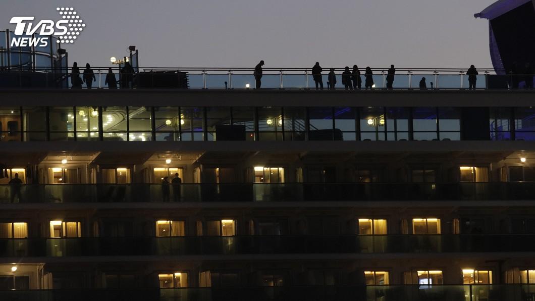 圖/達志影像美聯社 曾與鑽石公主號旅客接觸 沖繩一人疑患肺炎