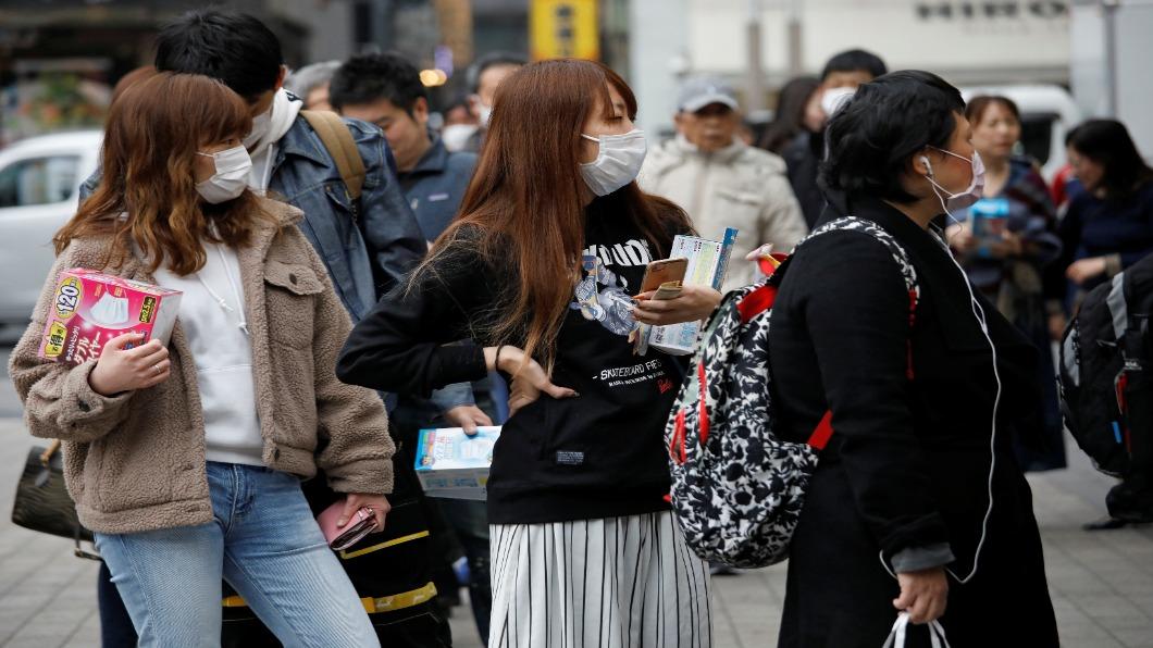 圖/達志影像路透 日本首例死亡 沖繩也傳確診!疑因郵輪乘客