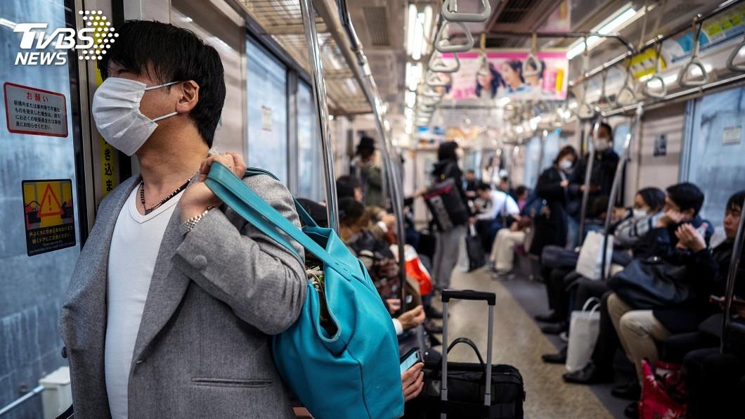 圖/達志影像路透社 日本疑有隱性社區傳播 建議提升旅遊警示
