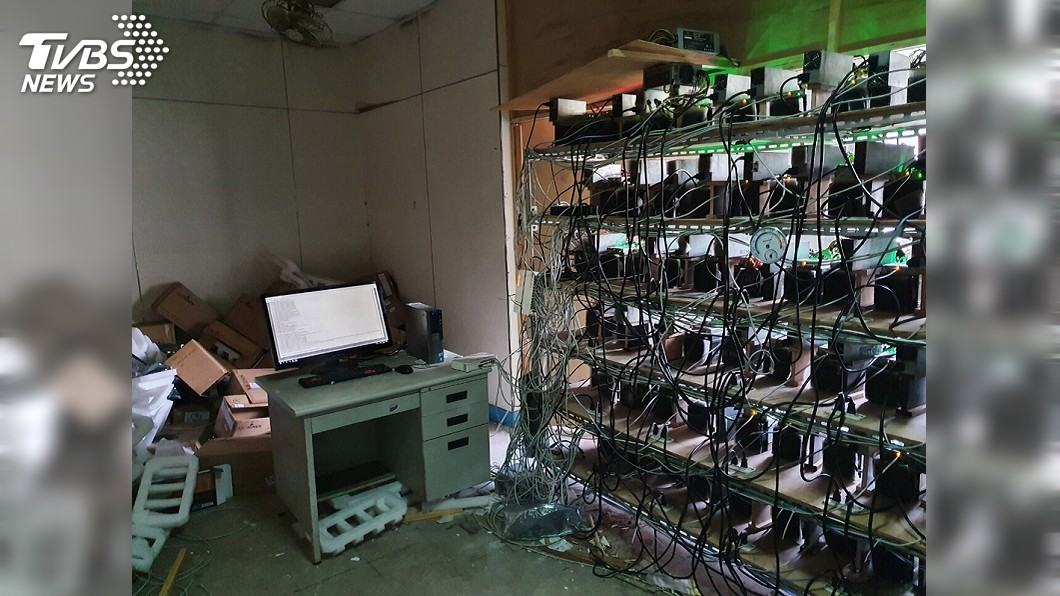圖/刑事局提供 父子3人竊電挖礦遭逮 台電求償8500萬元