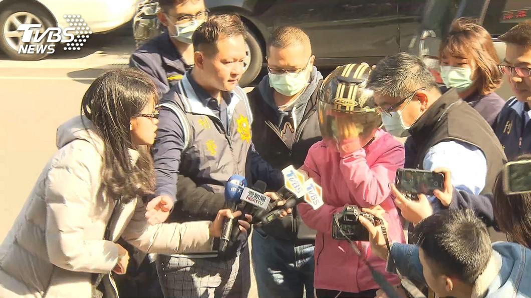 (圖/TVBS資料畫面) 勒斃子女傳訊前夫「我去陪孩子」 單親媽獲救遭判死刑