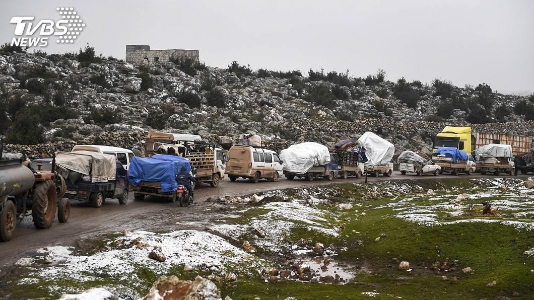 圖/達志影像美聯社 土敘邊界增90萬難民 世紀最慘人道危機隱現