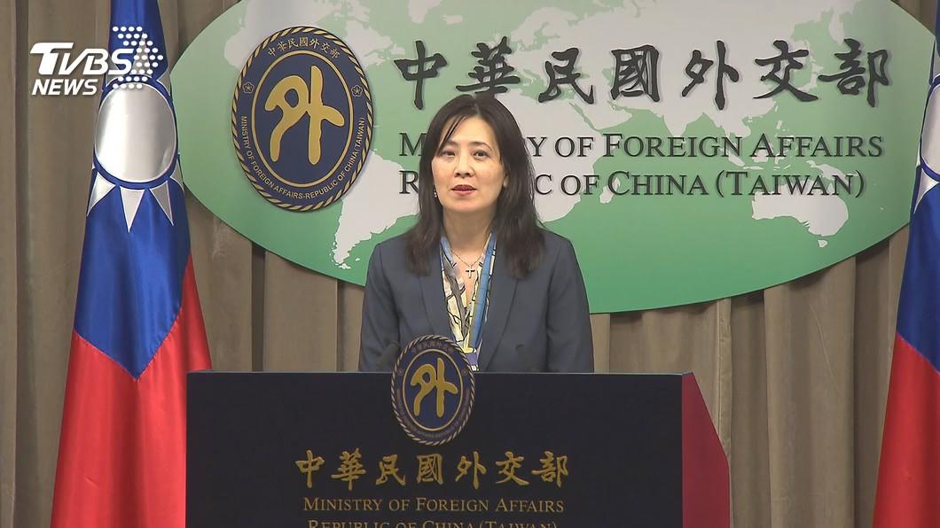外交部發言人歐江安。(圖/TVBS) 陸方鬧場斐濟駐處雙十酒會 外交部:已完成報案