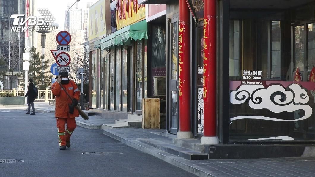 圖/達志影像美聯社 大陸7.8億人被「封閉管理」 CNN直擊京滬如空城