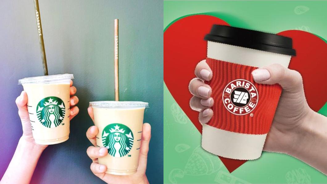(圖/翻攝星巴克、西雅圖咖啡粉專) 咖啡優惠不斷!星巴克、西雅圖都推買1送1