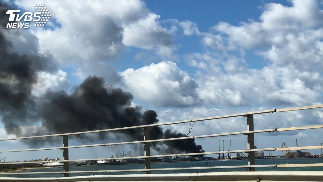 圖/達志影像路透社 利比亞首都再遭攻擊 政府宣布中止停火談判