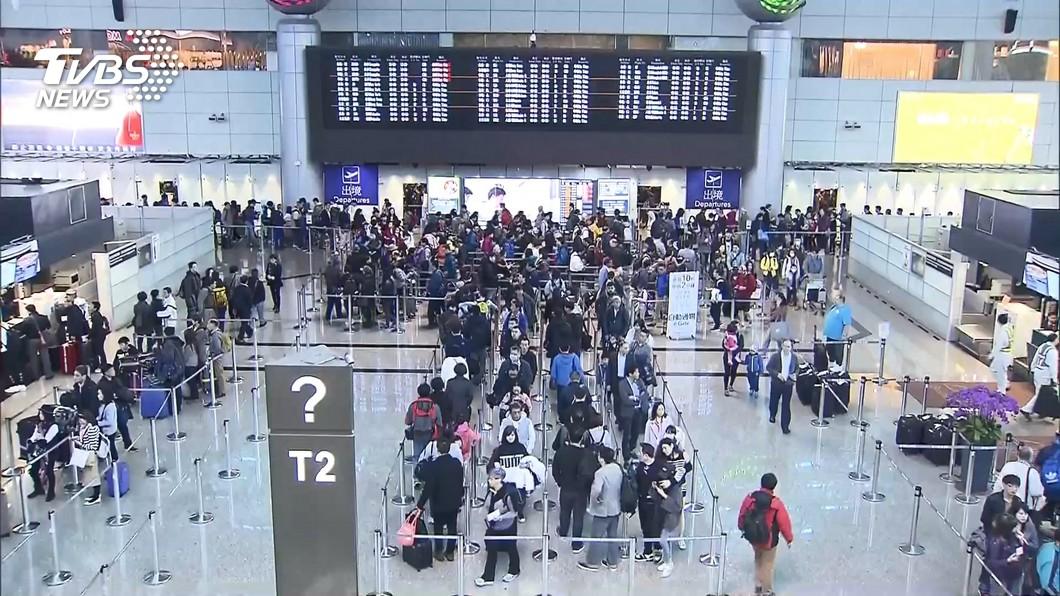 圖/TVBS 旅行社禁止出團至4月底 退費配合政府規定