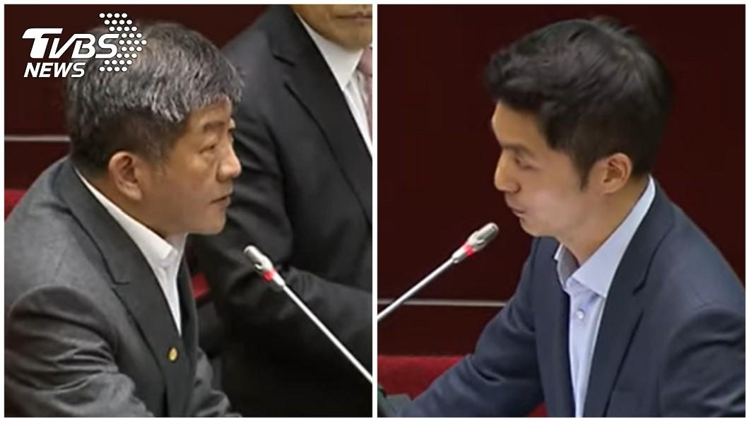 圖/TVBS 蔣萬安籲公布第24例在哪縣市 陳時中嗆:知道較安心?