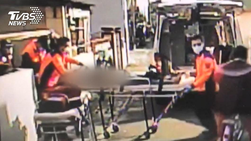 圖/TVBS 台南將軍槍擊案 男頭部中彈身亡、女命危