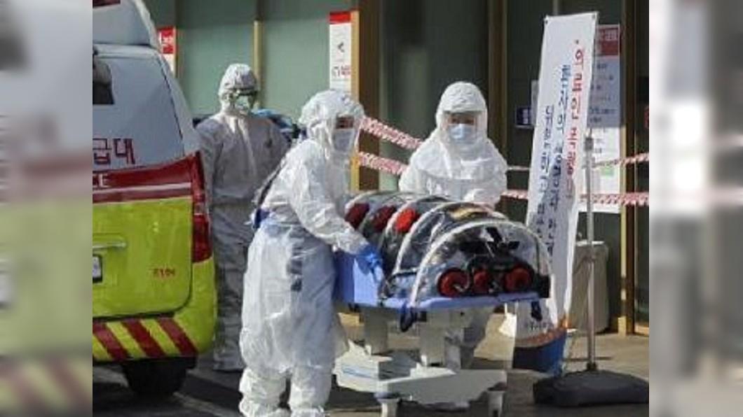 圖/翻攝自洛杉磯世界日報微博 南韓疫情升溫 今日新增142例累計達346例