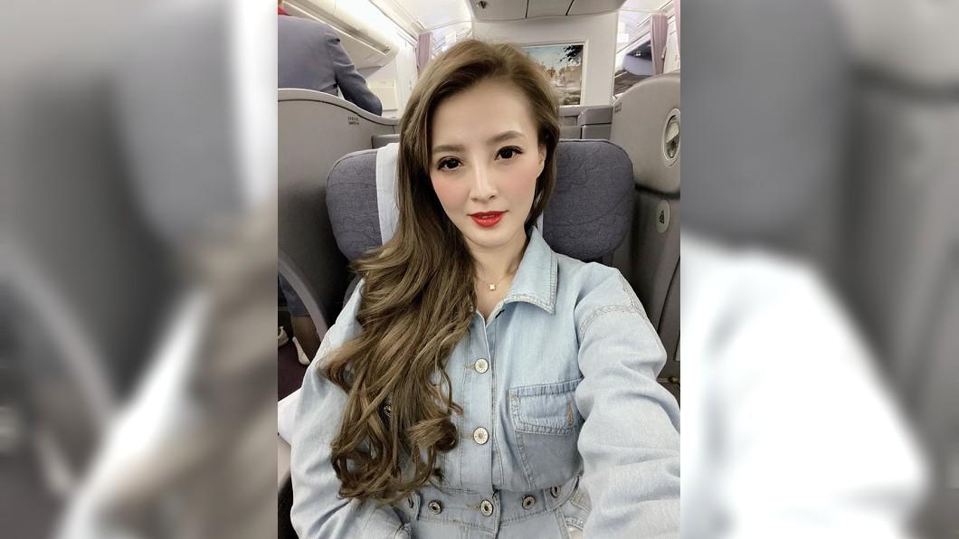 圖/江泳錡臉書 女星冒風險硬飛南韓 驚傳在機場昏倒
