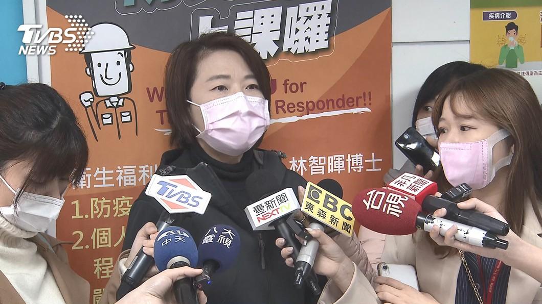 台北市副市長黃珊珊。(圖/TVBS資料畫面) 疫情相關訊息 黃珊珊:警局應扮演無聲音的人