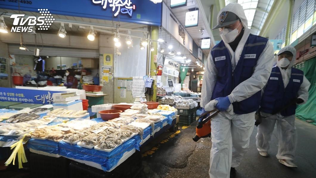 圖/達志影像美聯社 南韓一夜激增161例 累計763人確診7人死亡