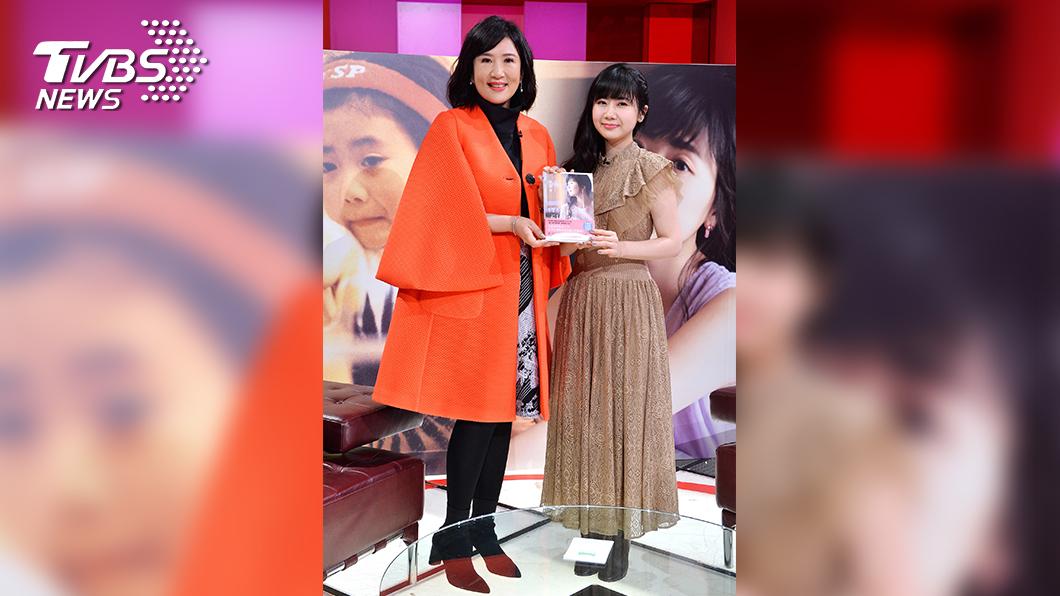 圖/TVBS提供 福原愛拚奧運 喝醬油都無味 當媽為女兒 連右手都不要