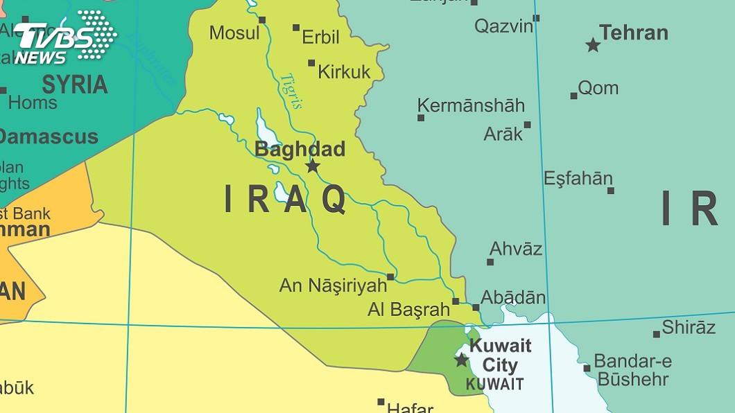 示意圖/TVBS 武漢肺炎擴散 伊拉克關閉與科威特一邊界關卡