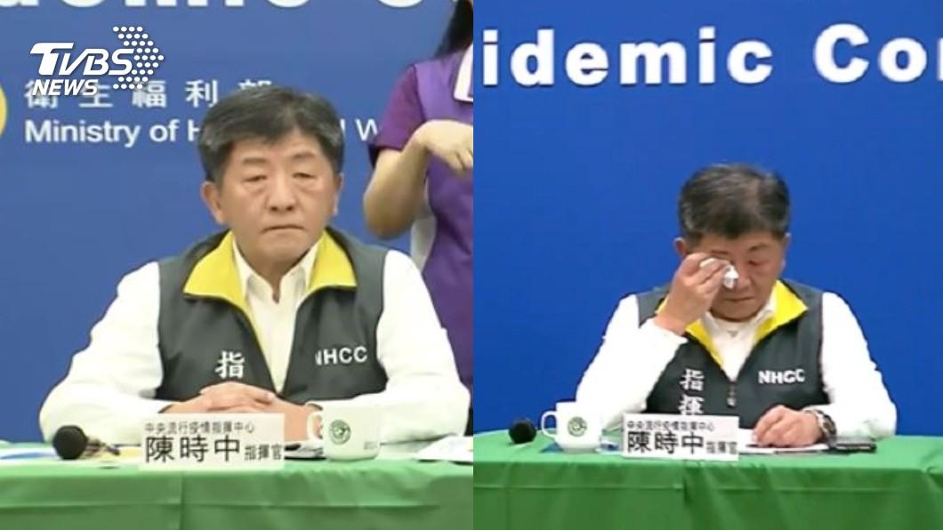 中央疫情指揮中心指揮官陳時中。(圖/TVBS) 若無防疫大戰 她爆陳時中原先下場是「被轉任」