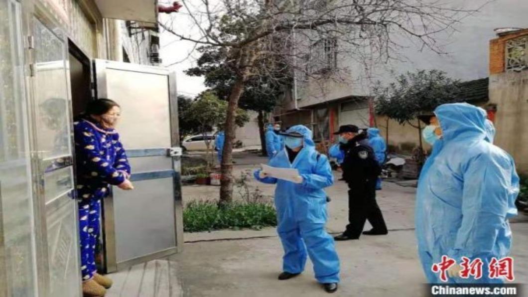 圖/翻攝自 中新網 中國大陸確診逾7.7萬 湖北防疫不鬆綁