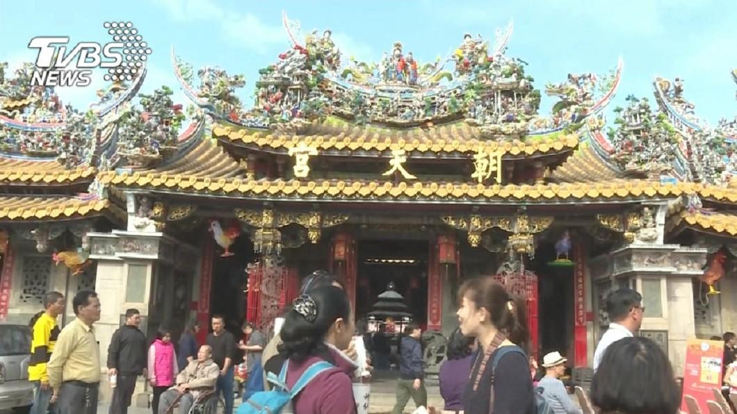 圖/TVBS資料畫面 快訊/新冠肺炎影響! 雲林北港媽祖遶境停辦