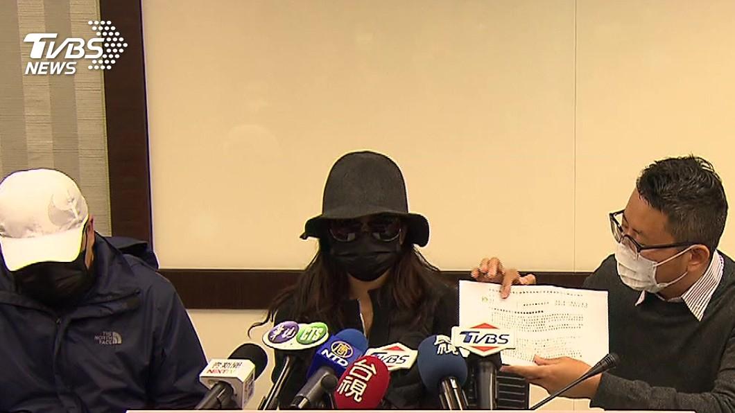 (家屬質疑沒有任何單位有作為。圖/TVBS) 家屬控無檢疫!女發燒隔天亡 生前路徑曝光