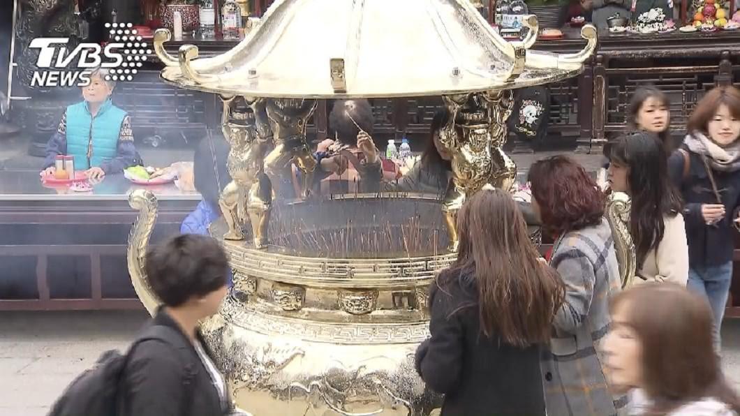 廟宇是許多台灣民眾民間的信仰中心。(示意圖/TVBS) 台灣「最大神尊」非玉帝?專家樹狀圖解答網大呼:超專業