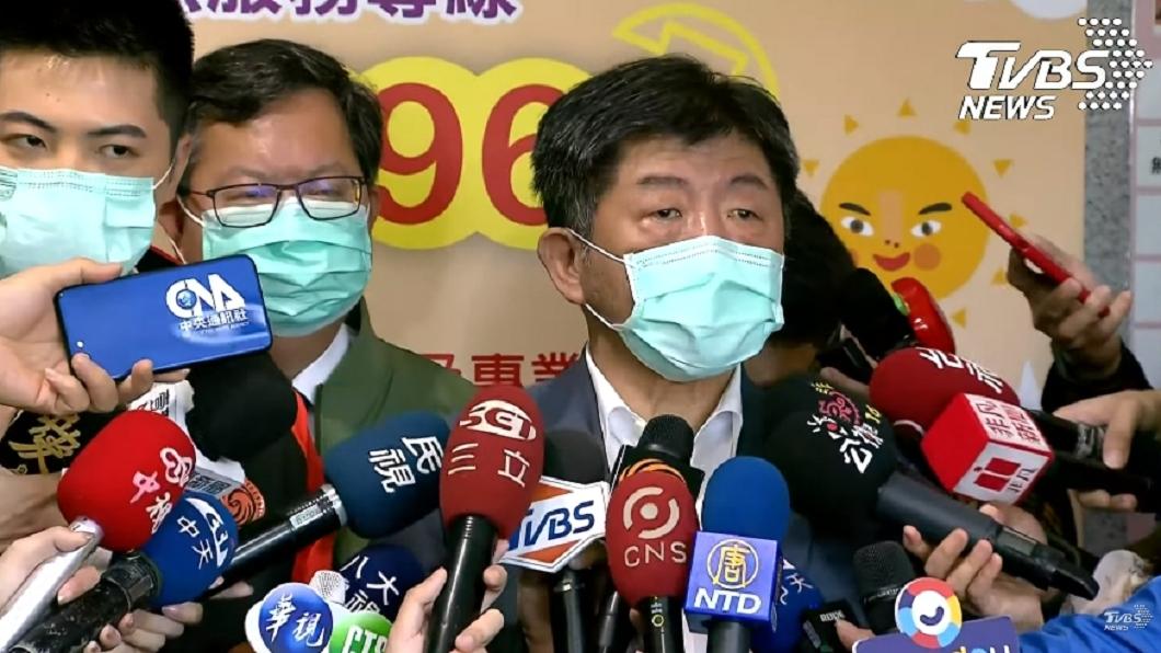 陳時中視察署立桃園醫院。(圖/TVBS) 第34例確診婦人疑院內感染 陳時中回應了