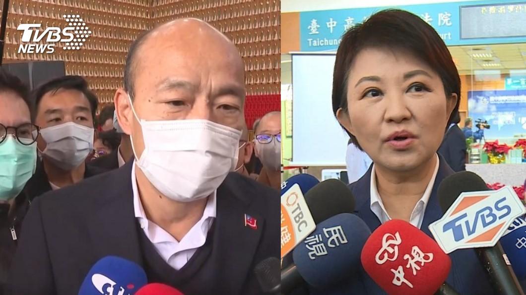 (高雄市長韓國瑜、台中市長盧秀燕相繼被發起罷免行動。圖/TVBS) 「禿子、燕子」都面臨罷免 他痛罵:大開民主倒車