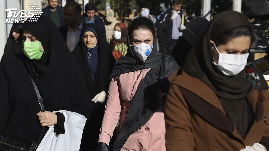 圖/達志影像美聯社 歐洲列強助抗武漢肺炎 伊朗拒美國援助斥作秀