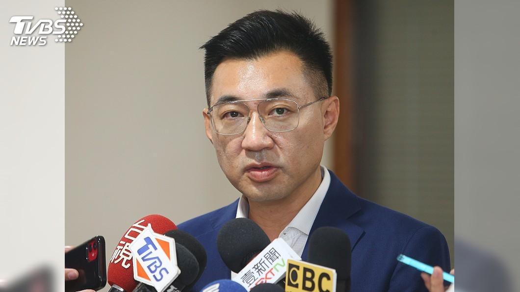 圖/中央社 國民黨主席補選 江啟臣:對投票率不樂觀