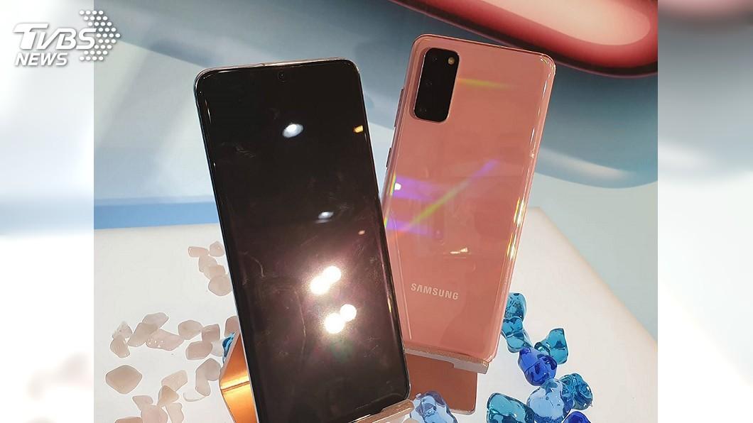 圖/中央社 三星首在台推5G手機 不畏疫情拚銷量增8%