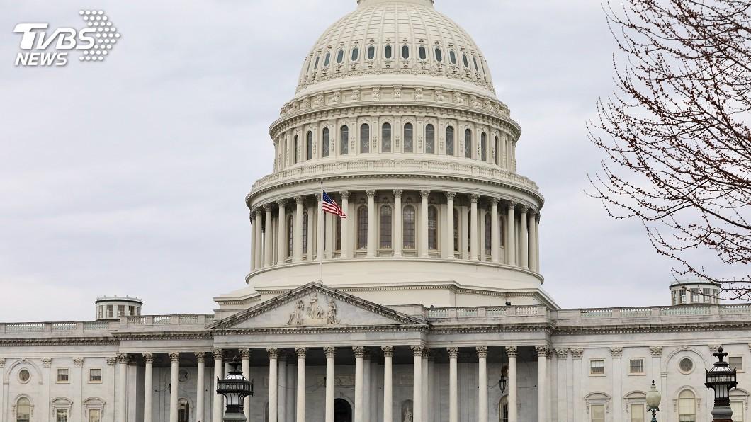 聯邦眾議院今天通過臨時開支法案。(圖/中央社) 美眾院通過臨時開支法案 避免政府10月1日關門