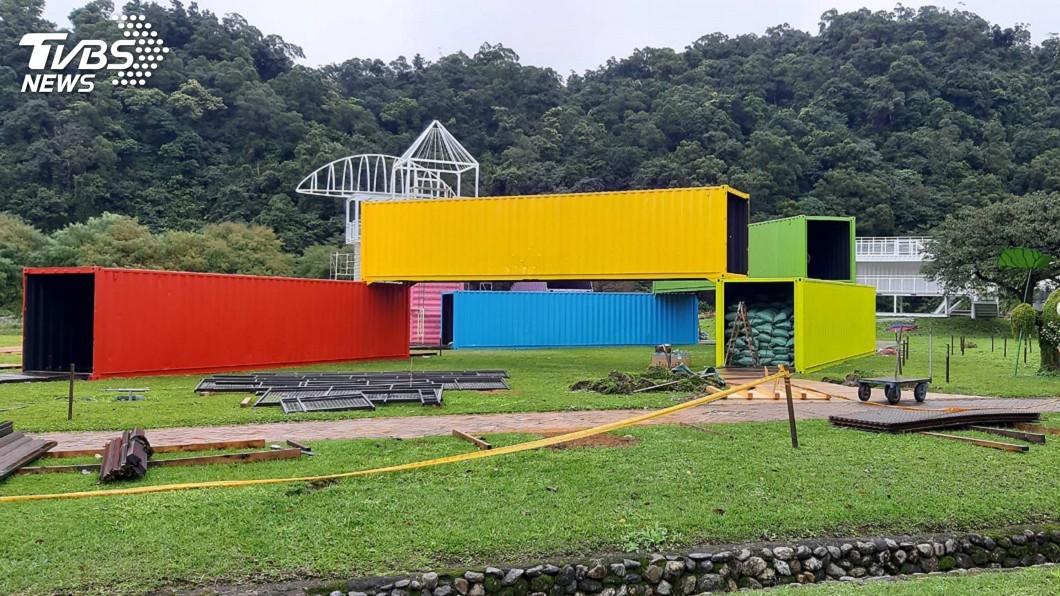 圖/中央社 受疫情影響 宜蘭綠色博覽會21年首度停辦