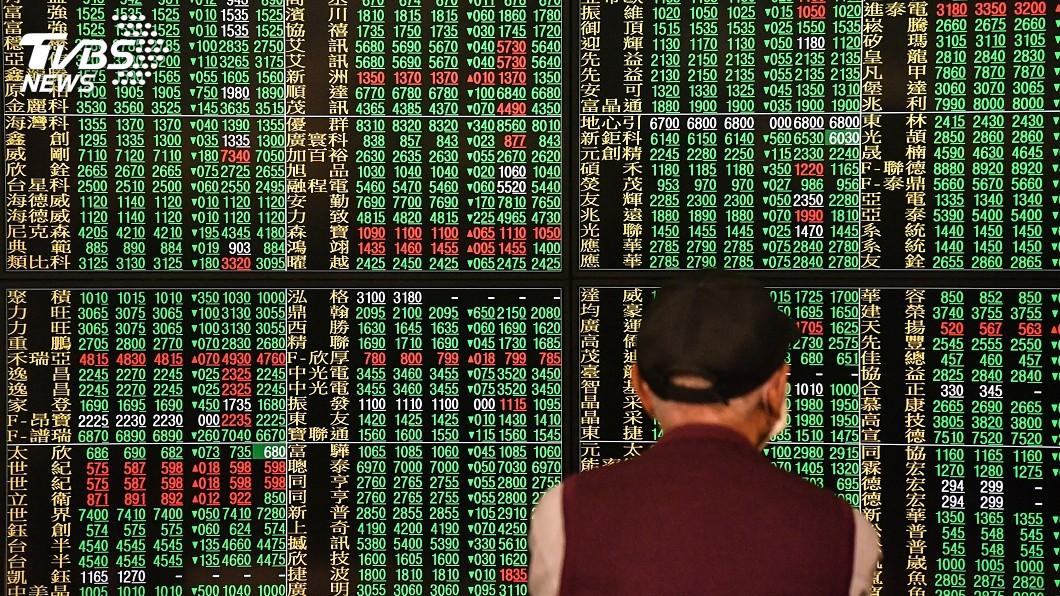圖/中央社 油價狂跌觸發全球股災 台股重挫344點失守年線
