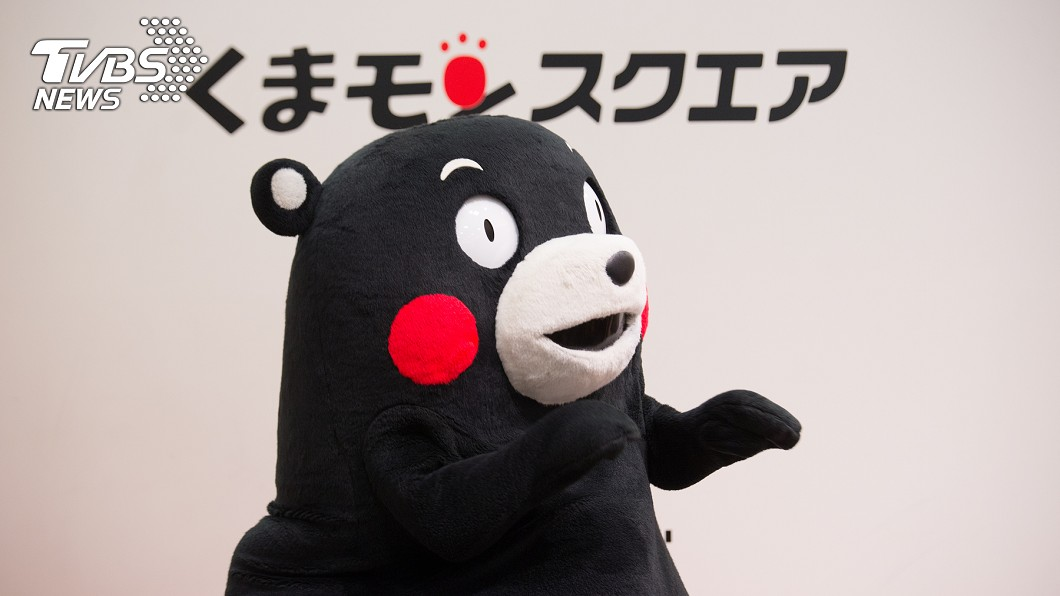 日本熊本縣吉祥物熊本熊是日本最紅吉祥物。(示意圖/TVBS) 吉祥物每天上班?網友揭密背後真相